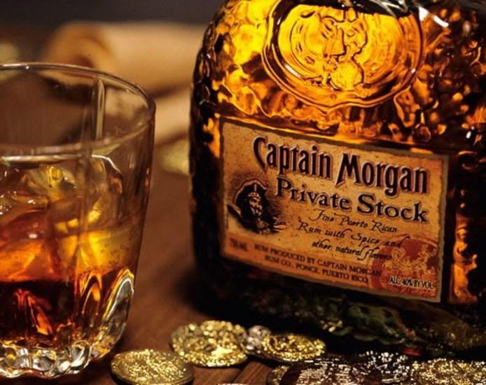 чем закусывать ром капитан морган