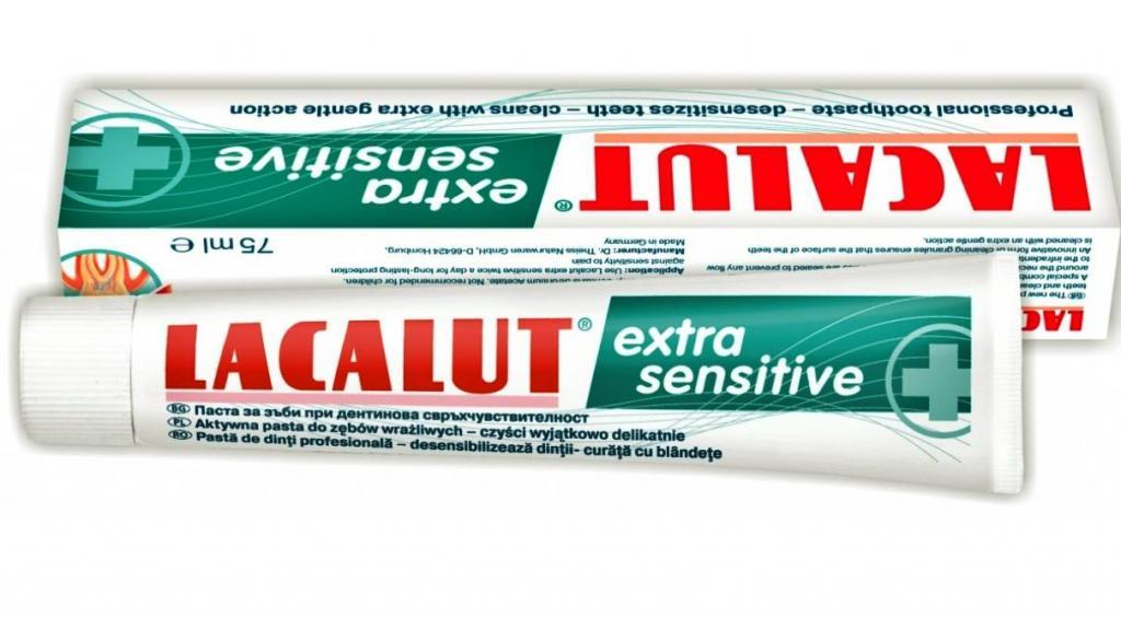 """""""Лакалют"""" для чувствительных зубов"""