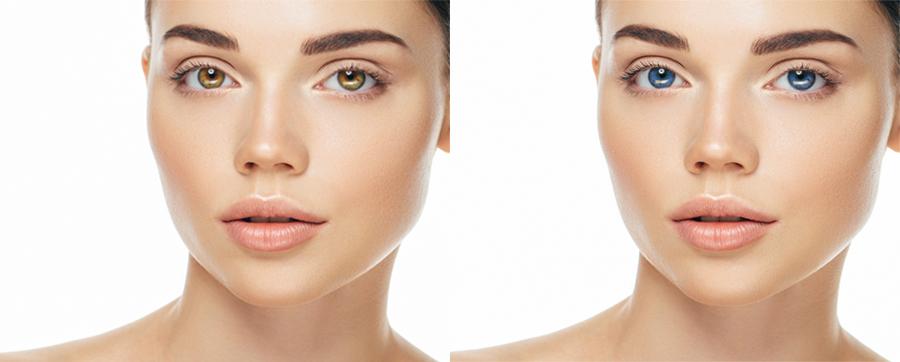 как поменять цвет глаз без операции
