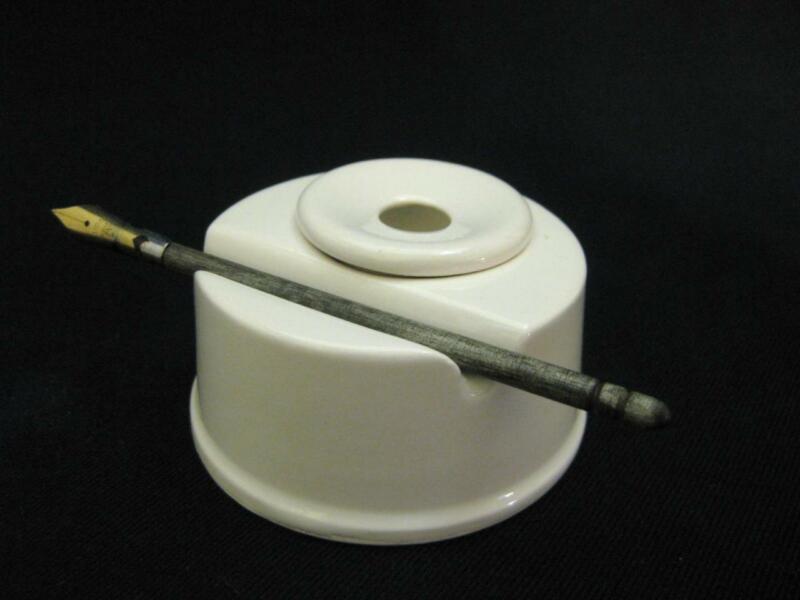 Чернильница из керамики
