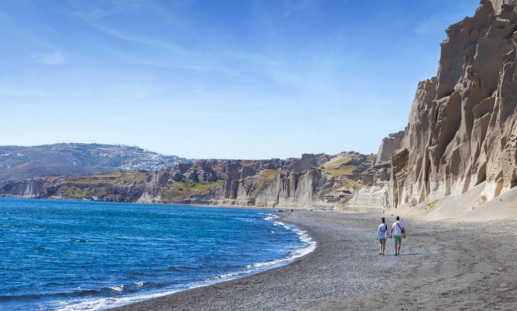 Песчаные пляжи Греции для отдыха