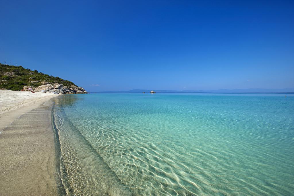 Греция песчаные пляжи для детей