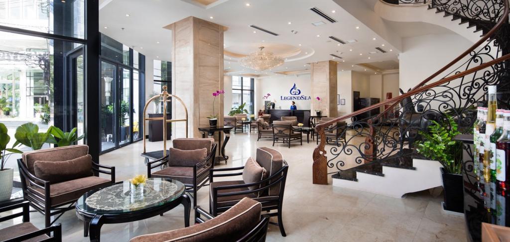 Legend Sea Hotel - вестибюль