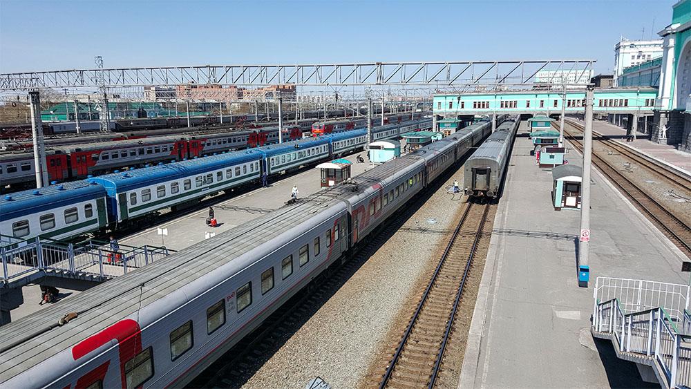 Поезда Новосибирского вокзала