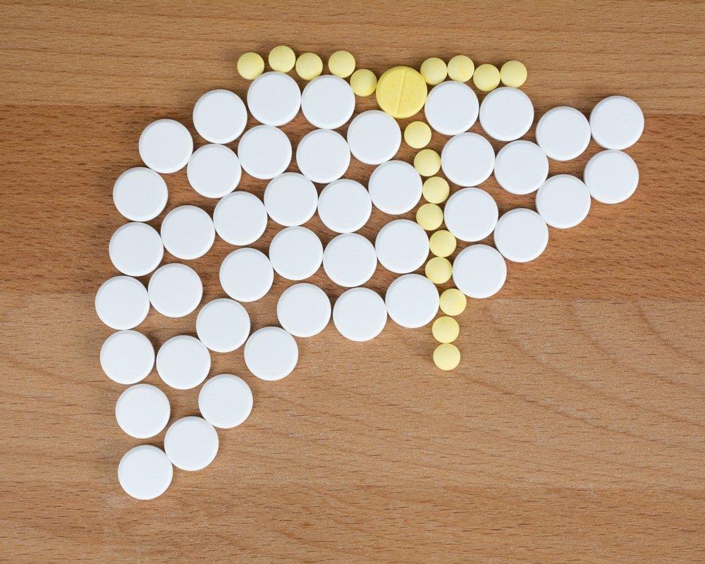 Таблетки - гепатопротекторы