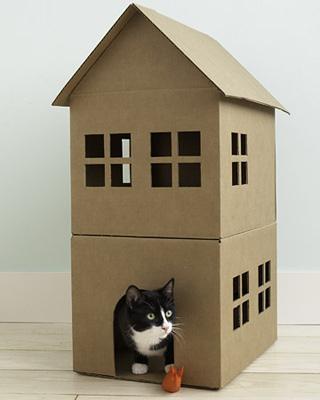 сшить лежанку для кошки