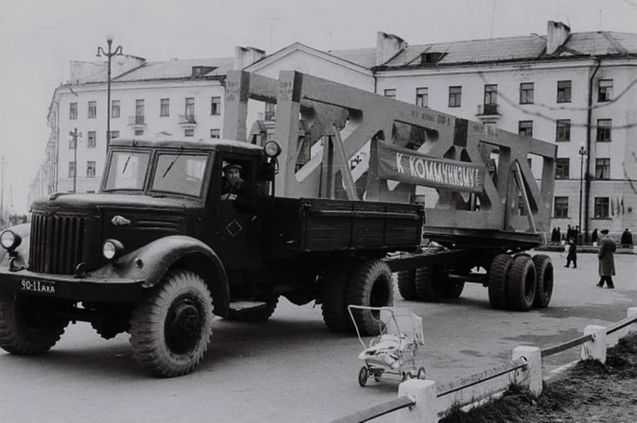 Грузовик МАЗ-501
