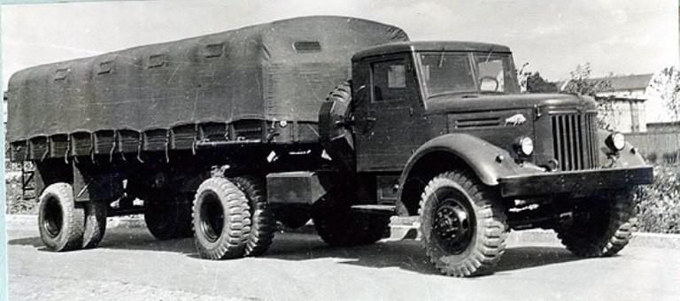 Фото грузовика МАЗ-501