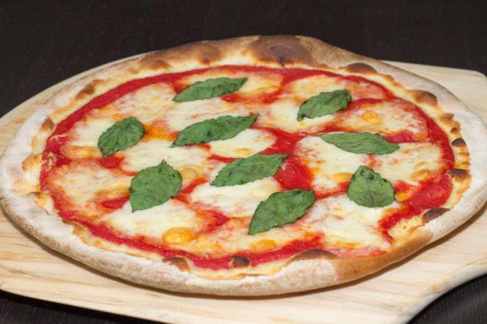 Пицца рецепт на основе для пиццы в духовке