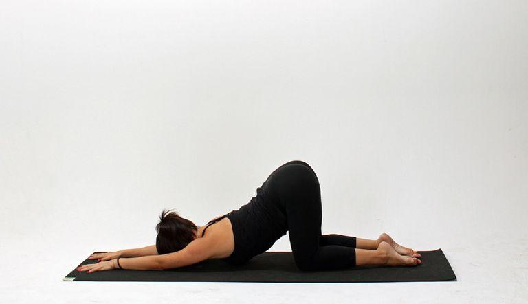 Расслабляющие асаны йоги перед сном
