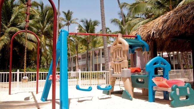 Детская площадка в отеле Риу Бамба