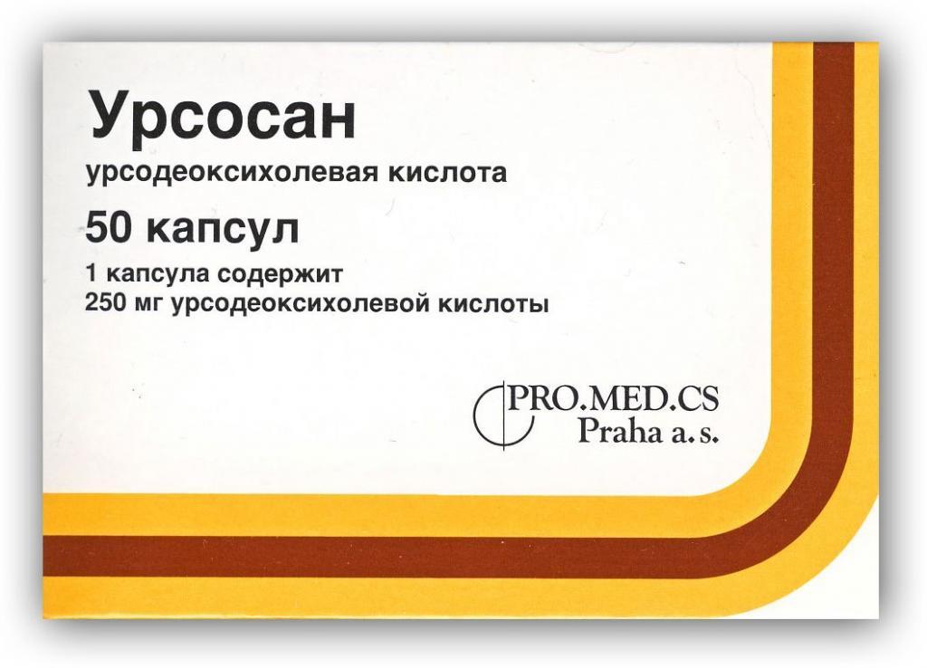 состав препарата урсосан