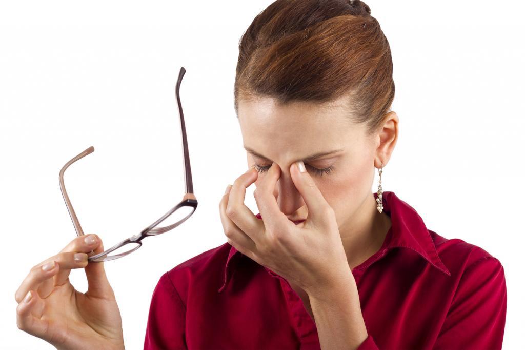 чем можно снять напряжение с глаз