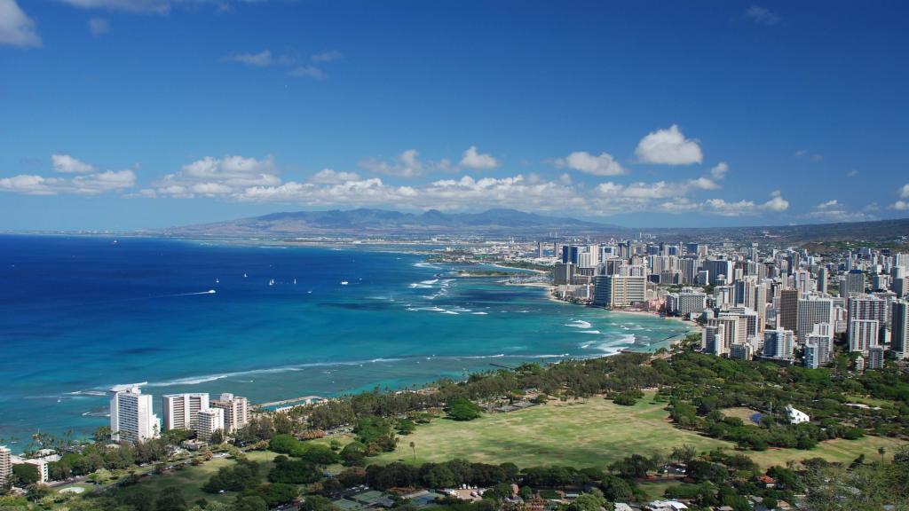 Штат Гавайи в США.