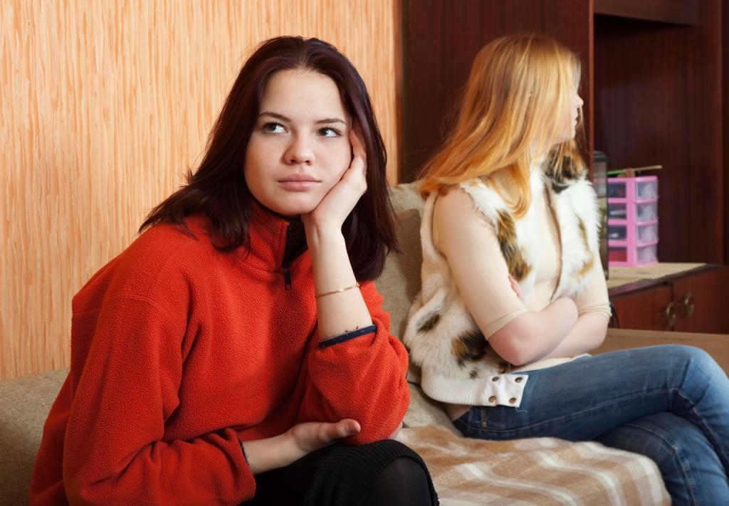 как помириться с сестрой если она виновата
