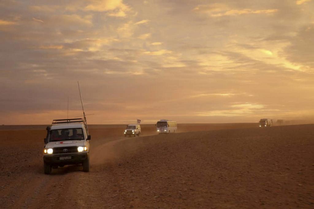 Дороги Сирийской пустыни