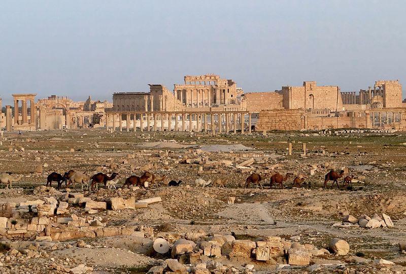 Разрушенная Пальмира