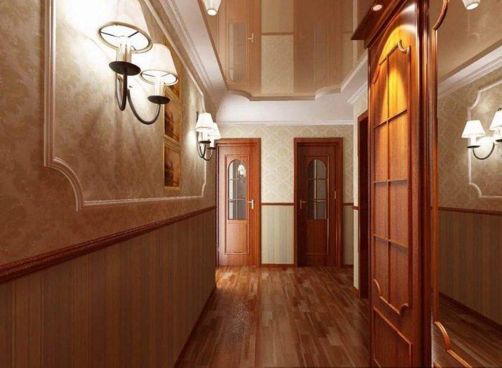 Панели ПВХ в коридоре