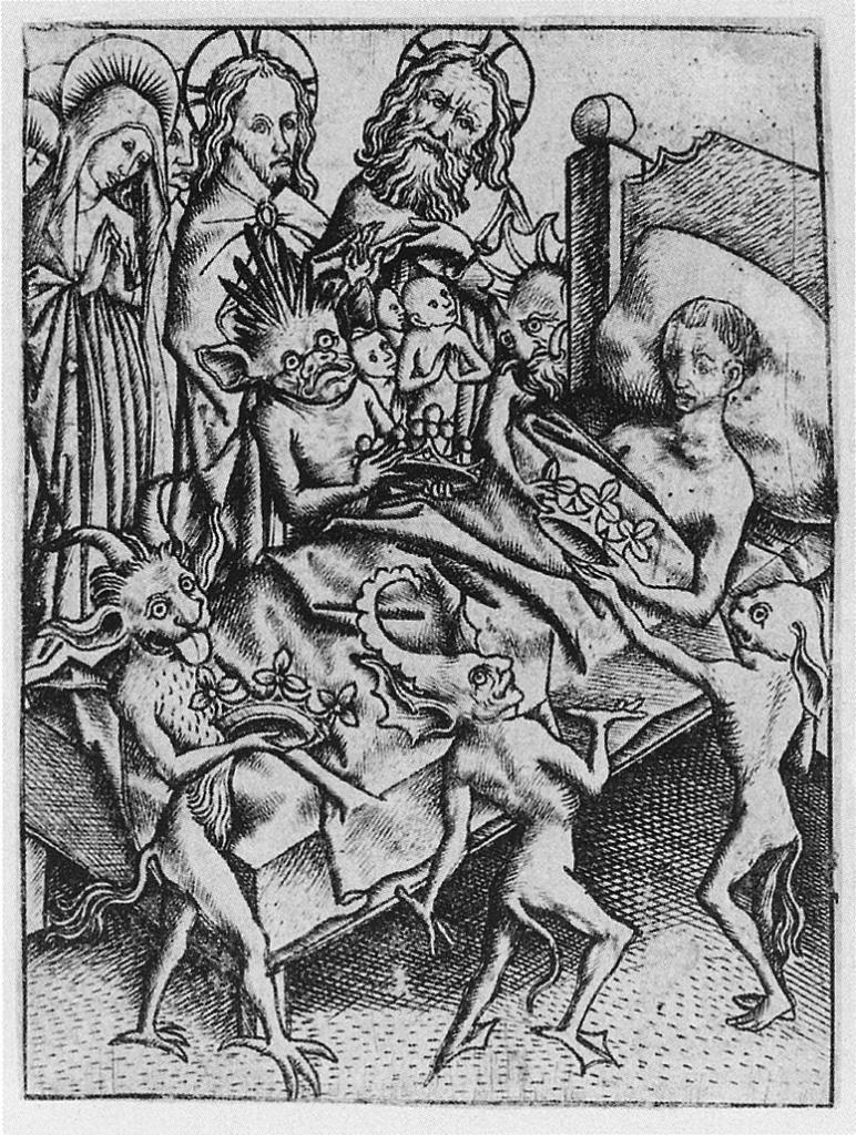 средневековые гравюры демонов