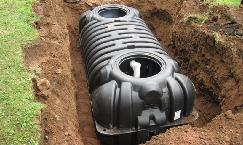 Емкость автономной канализации