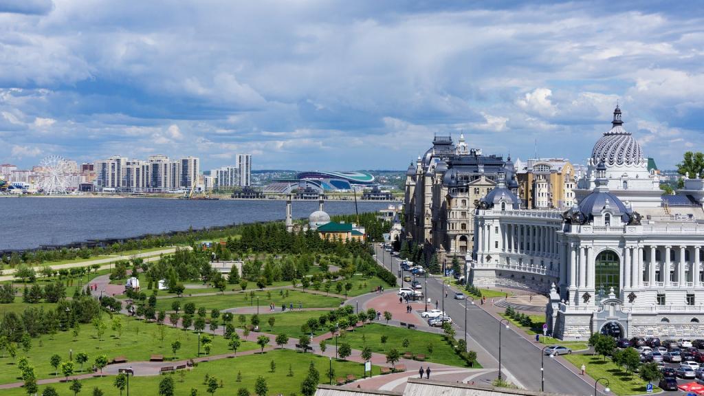 Район набережной Казанки