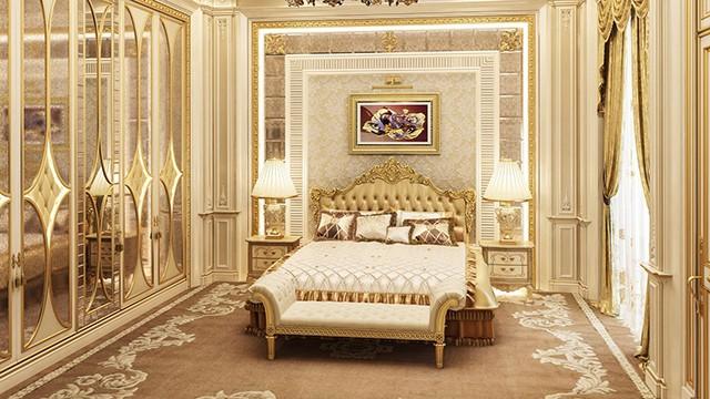 интерьеры спален в стиле классика