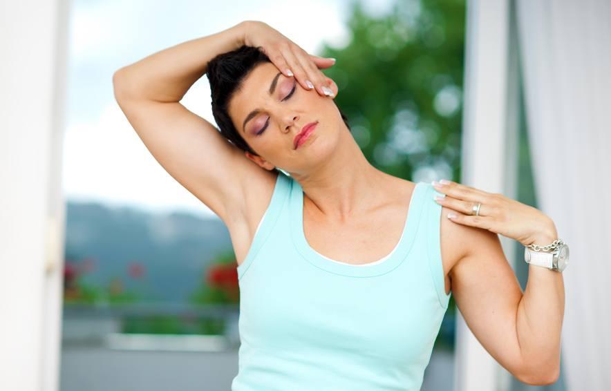 Растяжка мышц всего тела