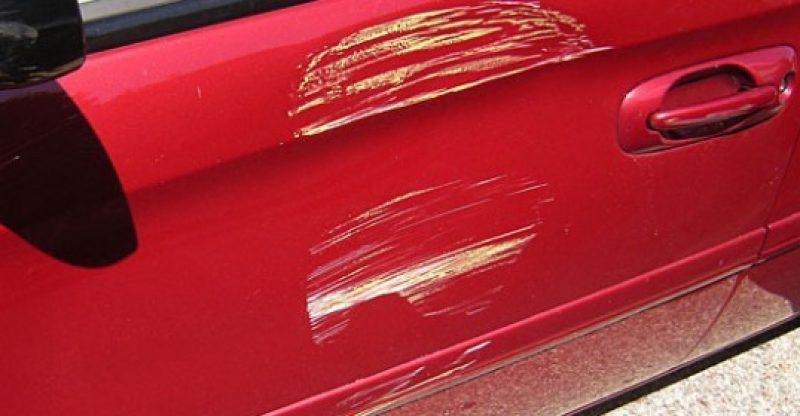 полировка мелких царапин автомобиля
