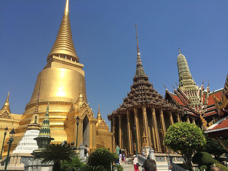 Ступа в Бангкоке