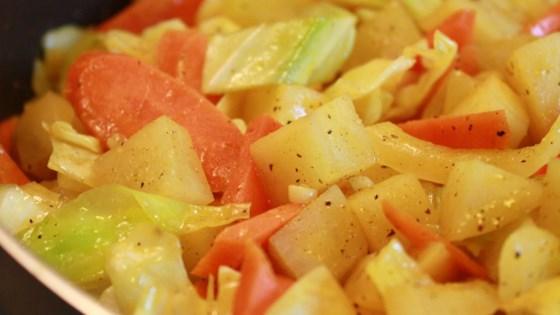вкусная картошка в мультиварке без мяса