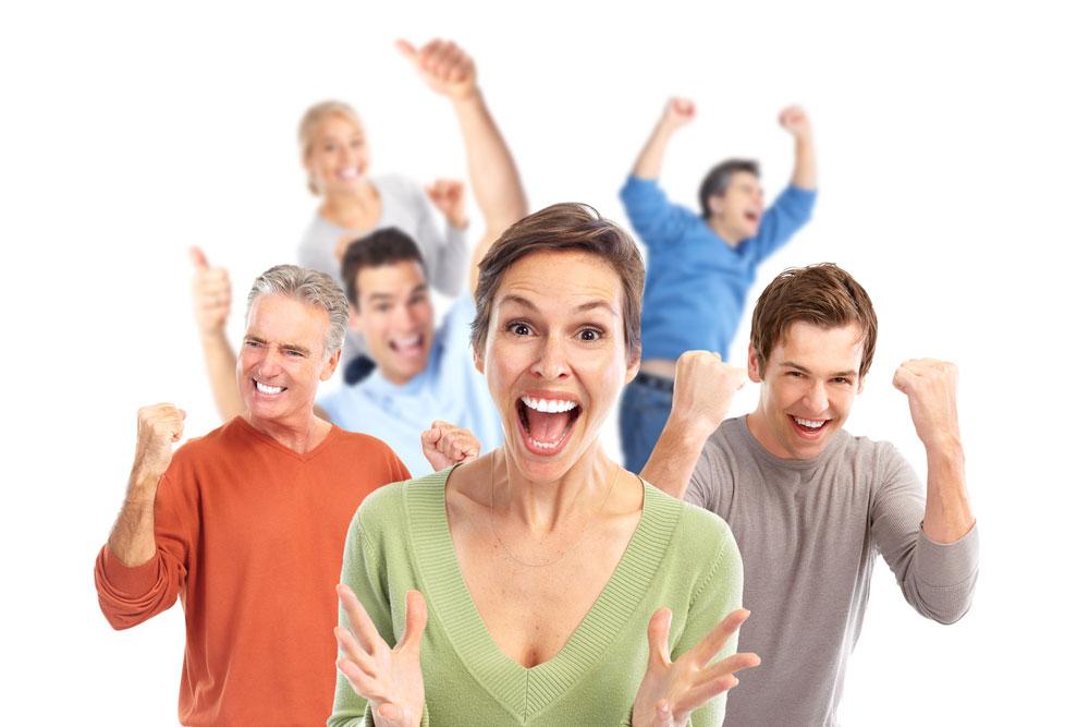 Счастливые и успешные люди