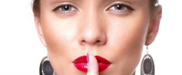 половые губы темного цвета