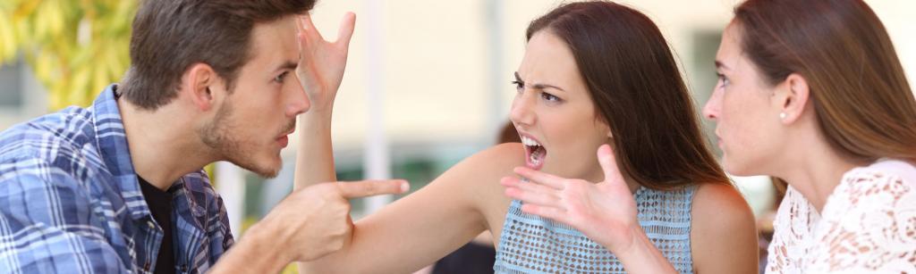 Попытка съехидничать – частая причина конфликта