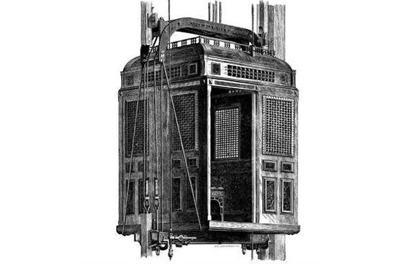 archimedes credited for the first elevator built in history Otis elevator company, founded 160 years ago today, quickly became, and remains, one of the largest elevator companies in the world thanks largely to elisha otis, who invented the elevator safety.