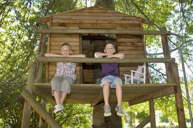 Как сделать дом на дереве ребенку своими руками