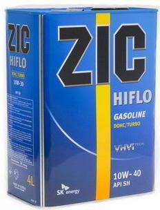 моторное масло zic 10w 40 отзывы