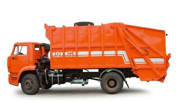 мусоровозы на шасси камаз