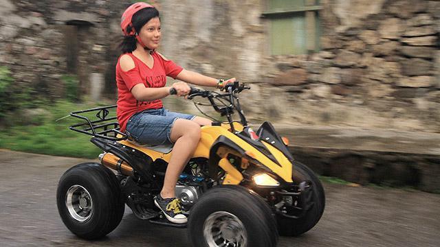 можно ли ездить на квадроцикле по городу
