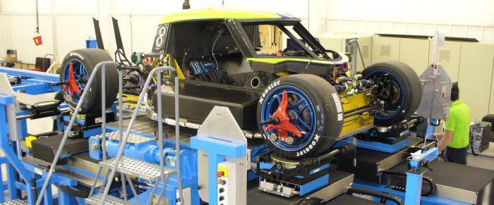 диагностика подвески автомобиля на вибростенде