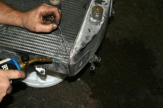 Ваз 2107 ремонт радиатора