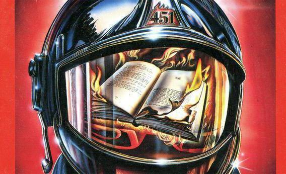 """цитаты из книги """"451 градус по Фаренгейту"""" про книги"""