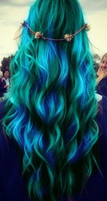 как правильно красить волосы мелками для волос