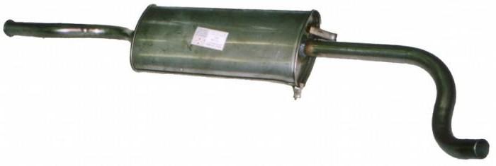 замена глушителя ваз 2115