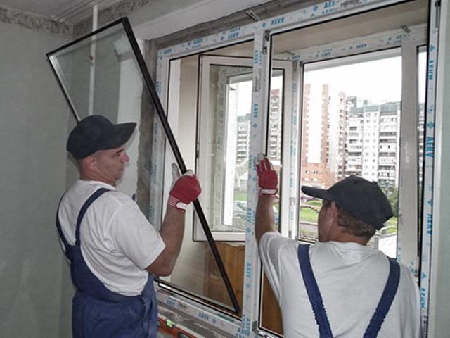 Как вынуть стеклопакет из пластикового окна? демонтаж стекло.