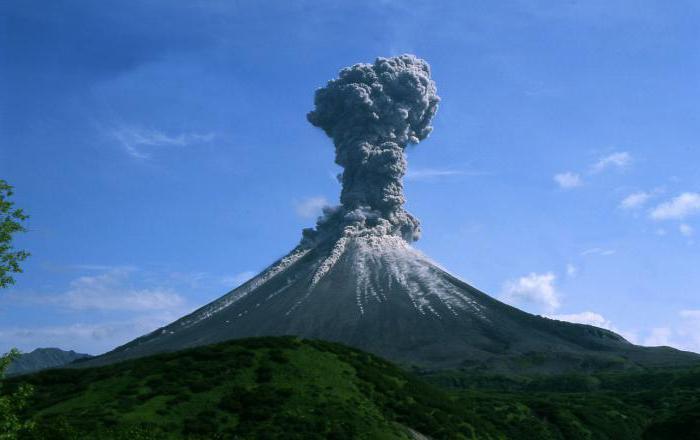 последнее извержение вулкана в россии