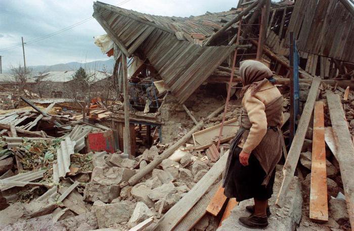 Землетрясения и извержения вулканов В России