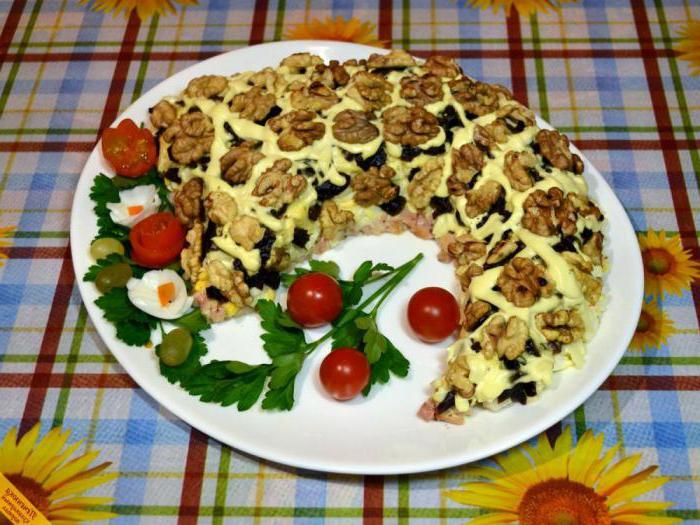 как приготовить салат рог изобилия пошаговый рецепт
