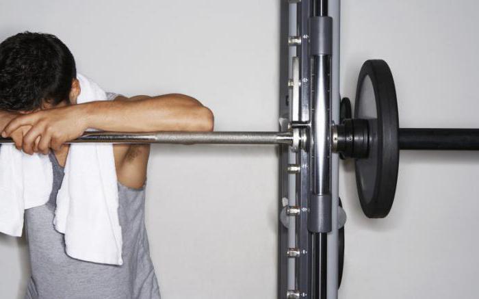 Упражнения в тренажерном зале для мужчин