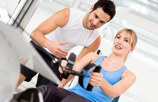 Тренировка для женщин в тренажерном зале