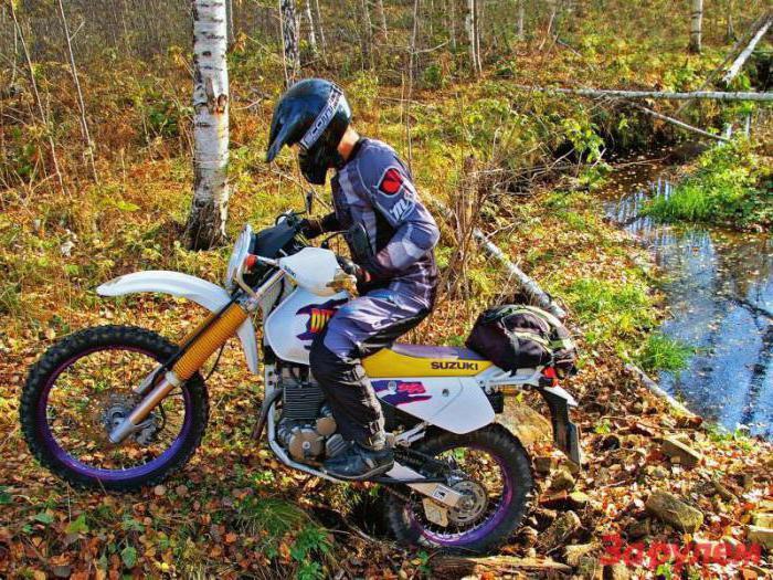 Suzuki Djebel 250 технические характеристики